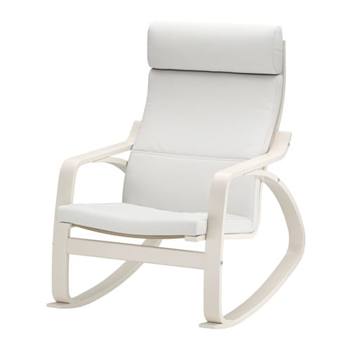 po ng fauteuil bascule finnsta blanc ikea. Black Bedroom Furniture Sets. Home Design Ideas