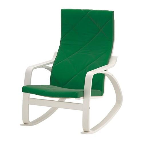 po ng fauteuil bascule sandbacka vert ikea. Black Bedroom Furniture Sets. Home Design Ideas