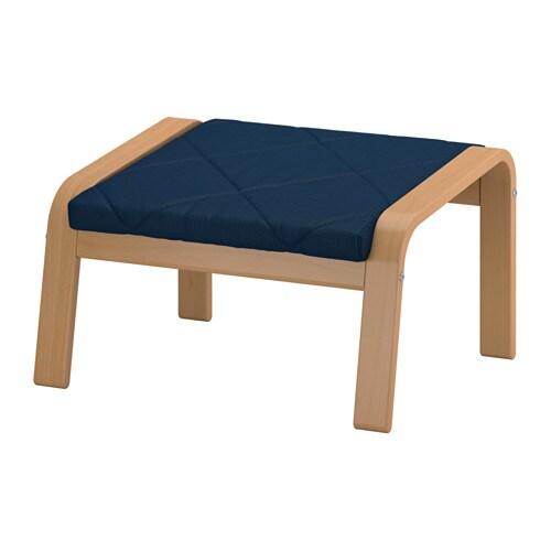 po ng repose pieds edum bleu fonc ikea. Black Bedroom Furniture Sets. Home Design Ideas