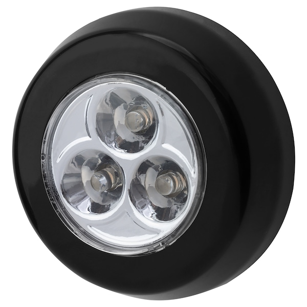 RAMSTA mini-lampe à LED à pile noir 2 cm 7 cm