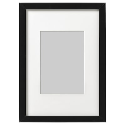 RIBBA Cadre, noir, 21x30 cm