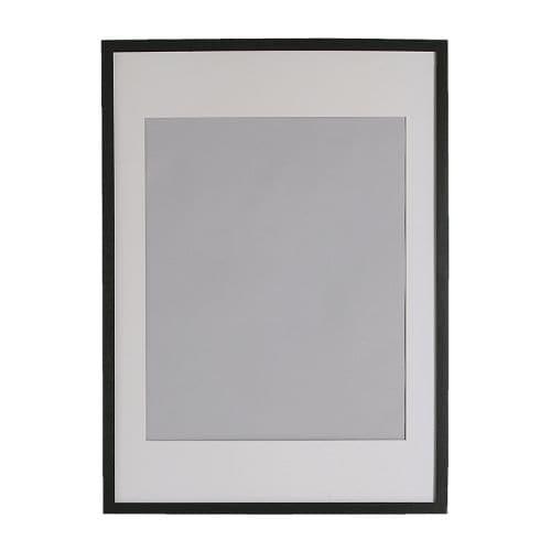 Ribba cadre 50x70 cm ikea for Clip de verre cadres photo ikea
