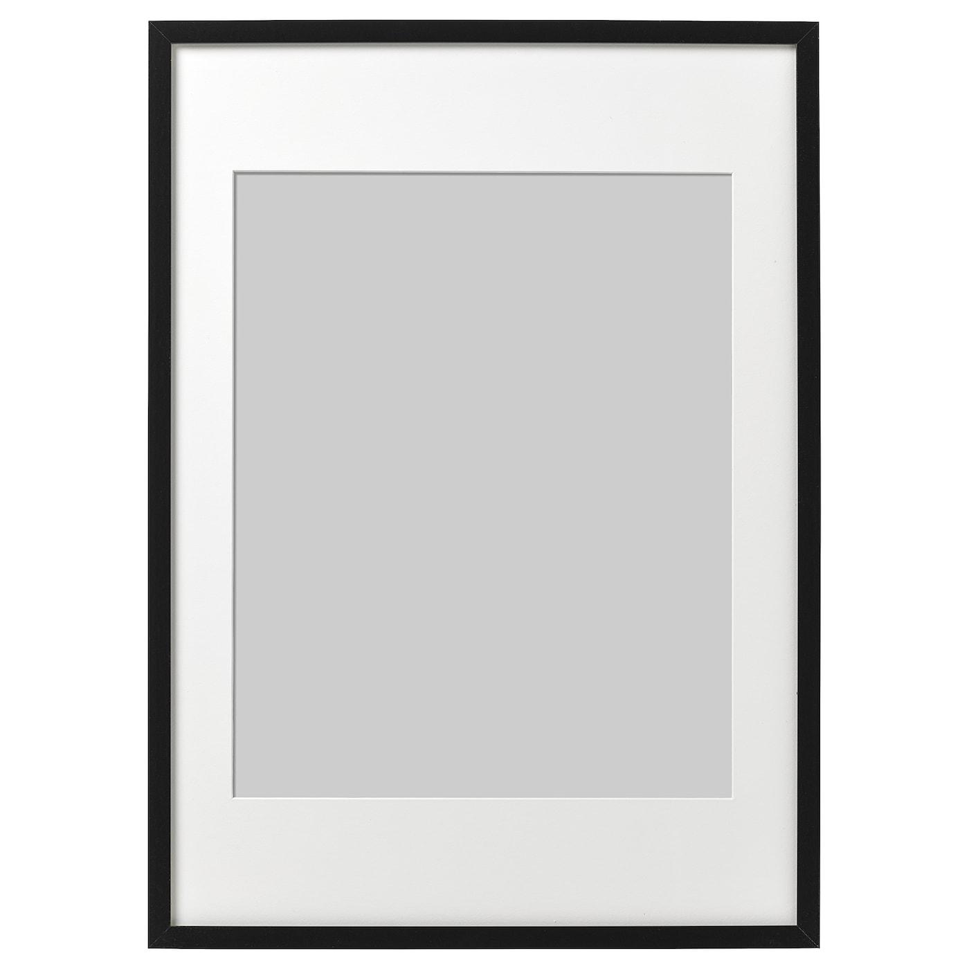 Cadre Photo Sur Pied Ikea ribba cadre - noir 50x70 cm