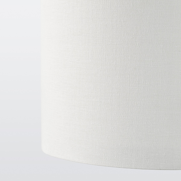 RINGSTA / SKAFTET Lampadaire, blanc/laiton