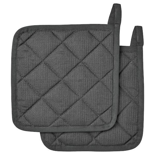 RINNIG Manique, gris, 21x21 cm