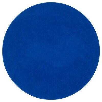 RISGÅRDE Tapis, poils ras, bleu, 70 cm