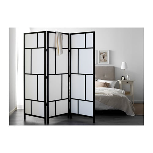 paravent ikea bois. Black Bedroom Furniture Sets. Home Design Ideas
