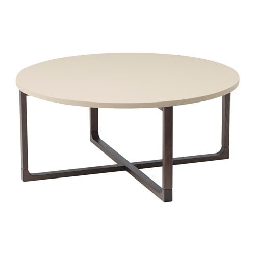 Rissna table basse ikea for Table ronde ikea