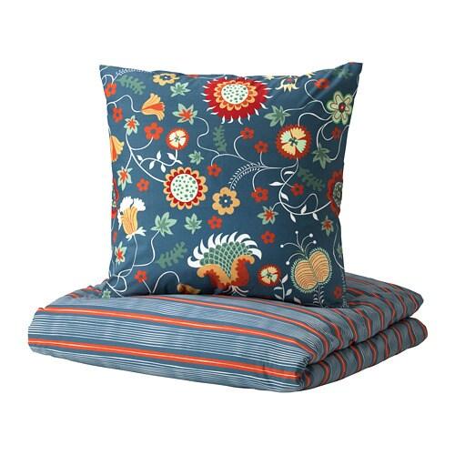 rosenrips housse de couette et taie 150x200 65x65 cm ikea. Black Bedroom Furniture Sets. Home Design Ideas