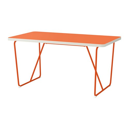 Rydeb ck table backaryd orange ikea for Table 8 personnes ikea