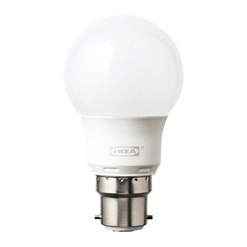ryet ampoule led b22 400 lumen ikea. Black Bedroom Furniture Sets. Home Design Ideas