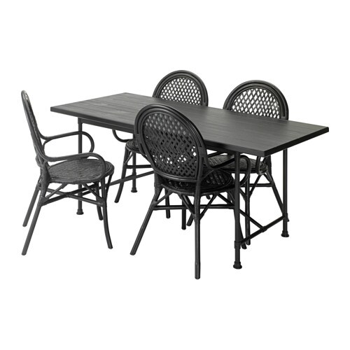 ryggestad karpalund lmsta table et 4 chaises ikea. Black Bedroom Furniture Sets. Home Design Ideas