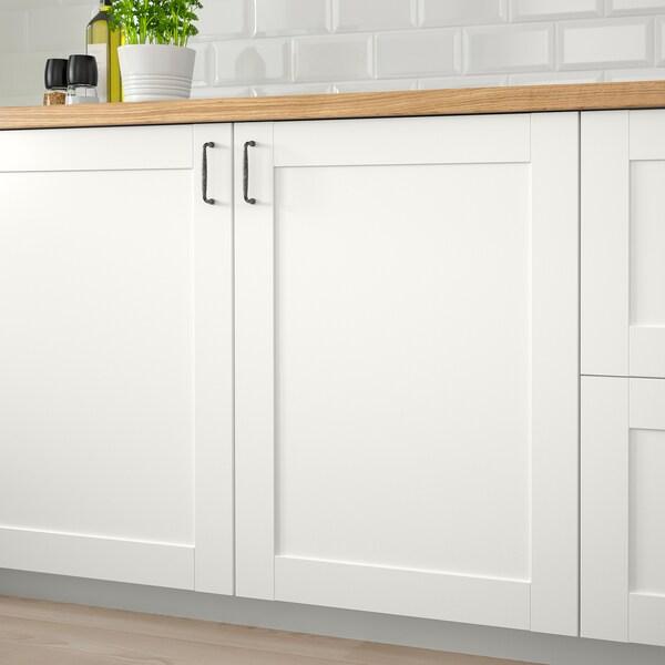 SÄVEDAL Porte, blanc, 60x80 cm