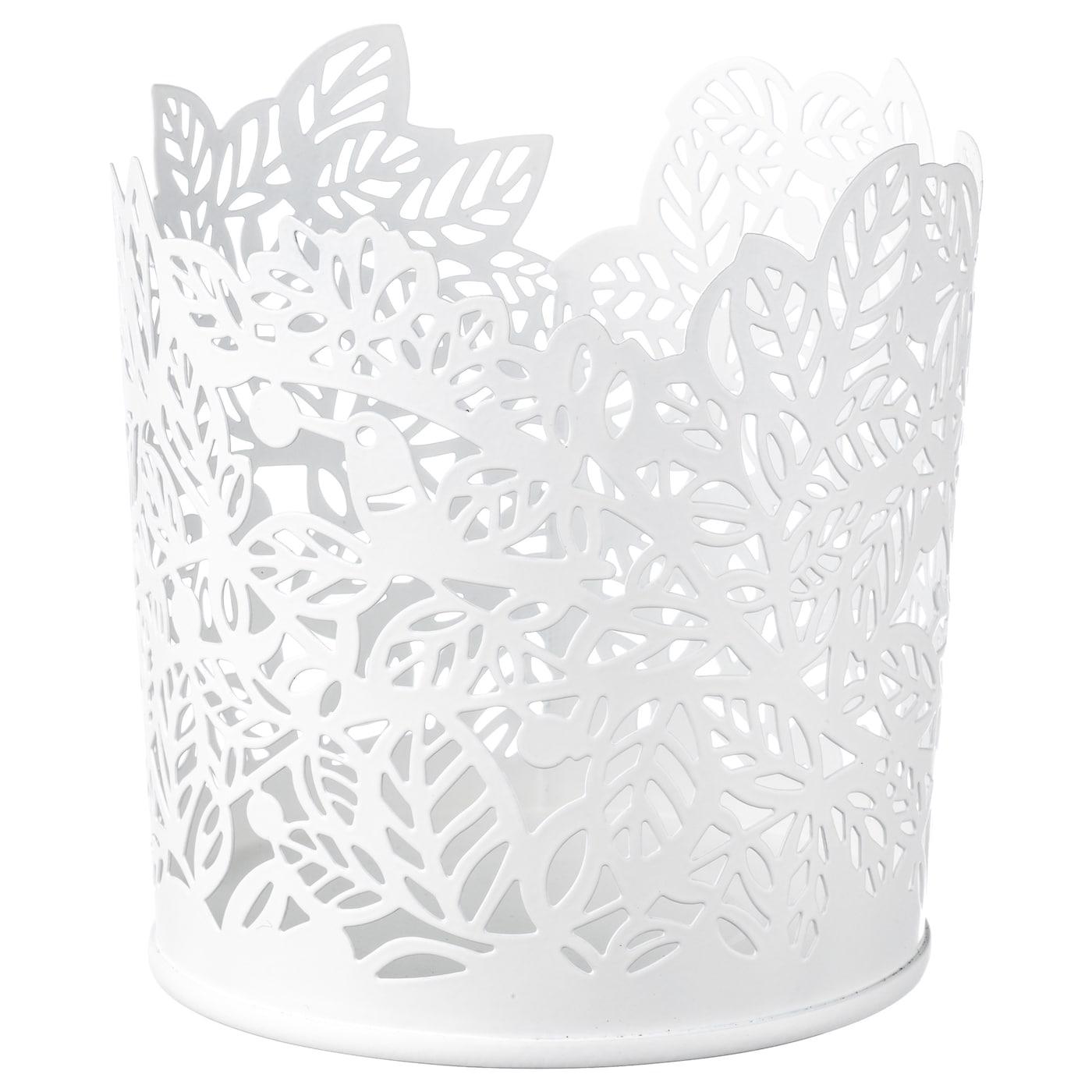 IKEA stabbig deco pour bougie en verre en noir; 8 cm Photophore lumignons DECO