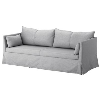 SANDBACKEN canapé 3 places Frillestad gris clair 212 cm 78 cm 69 cm 70 cm 42 cm