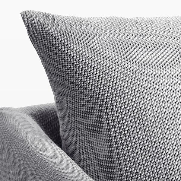 SANDBACKEN Canapé d'angle, 3 places, Frillestad gris clair