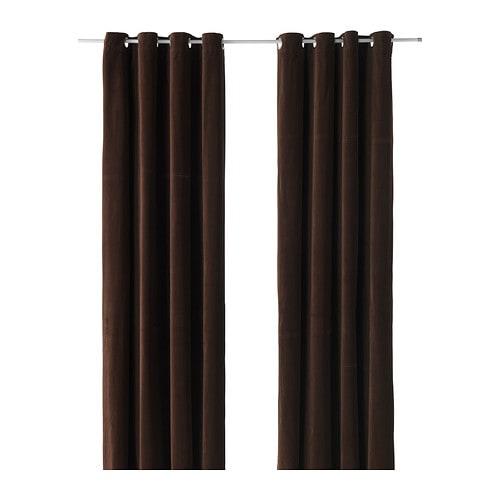 Sanela Rideaux 1 Paire Ikea