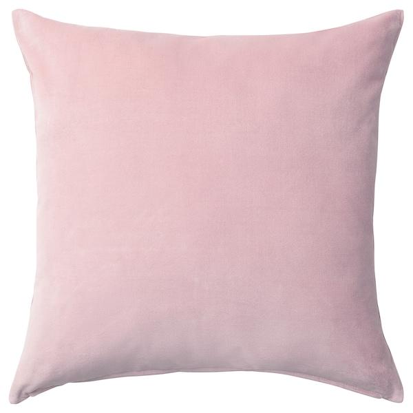 SANELA Housse de coussin, rose clair, 50x50 cm