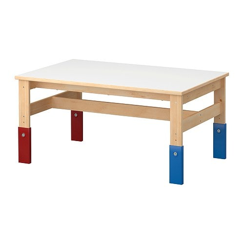Fabriquer une table ronde pour enfants fit sister 39 s blog for Ikea table rectangulaire