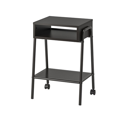 setskog table de chevet noir ikea. Black Bedroom Furniture Sets. Home Design Ideas