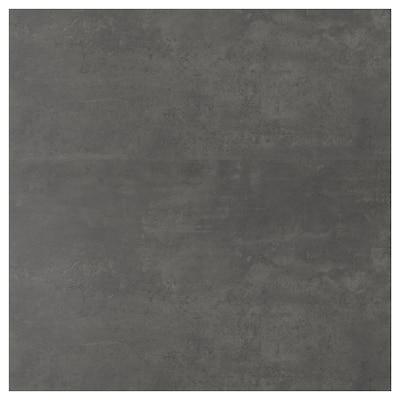 SIBBARP Revêtement mural sur mesure, imitation ciment/stratifié, 1 m²x1.3 cm