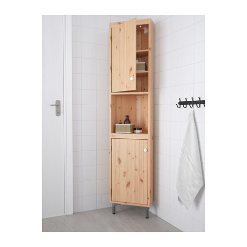 Silver n l ment d 39 angle brun clair ikea for Meuble d angle ikea