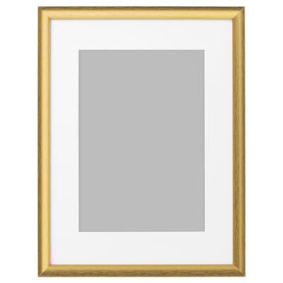 SILVERHÖJDEN Cadre, couleur or, 30x40 cm