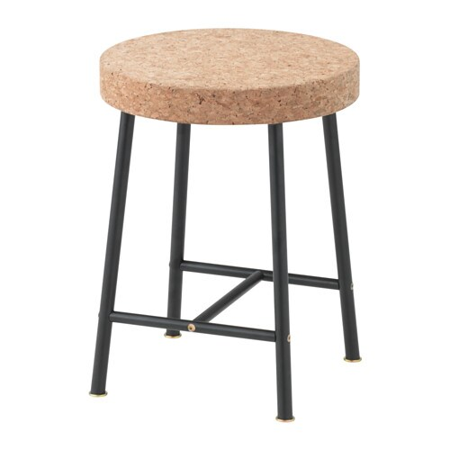 Sinnerlig tabouret ikea for Tabouret couleur ikea