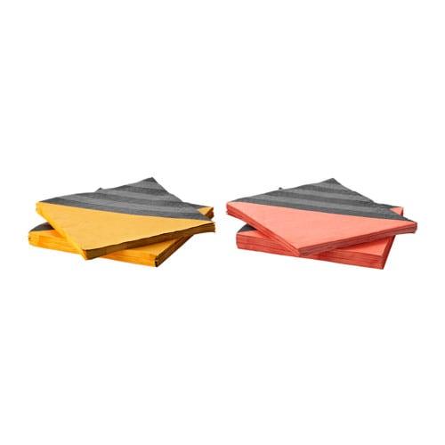 Sittning serviettes en papier ikea - Serviette de table ikea ...