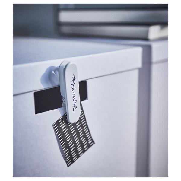 SKÅDIS Pince presse-papier, blanc