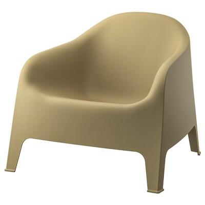 SKARPÖ fauteuil, extérieur vert olive clair 110 kg 81 cm 79 cm 71 cm 53 cm 49 cm 37 cm