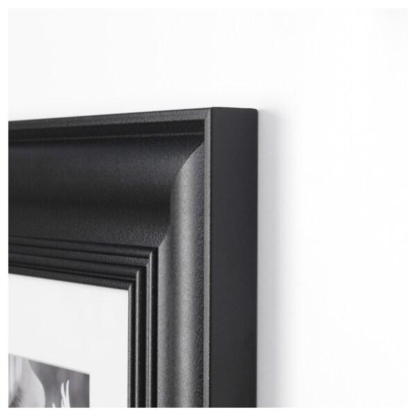 SKATTEBY Cadre, noir, 20x20 cm