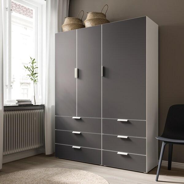 SKATVAL Porte, gris foncé, 60x120 cm