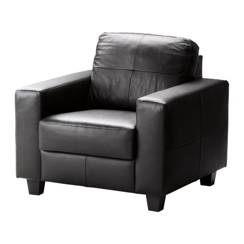 skogaby fauteuil glose bomstad noir ikea. Black Bedroom Furniture Sets. Home Design Ideas