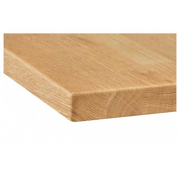 Skogarp Plan De Travail Sur Mesure Chene Bois Massif Ikea