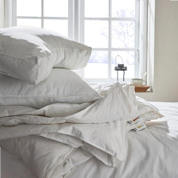 SKOGSLÖK Oreiller ergo, couch. multiposition, 40x65 cm