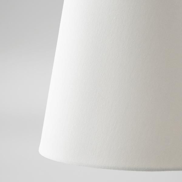 SKOTTORP Abat-jour, blanc, 42 cm