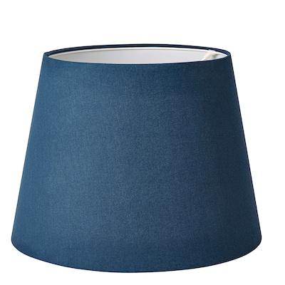 SKOTTORP Abat-jour, bleu foncé, 42 cm