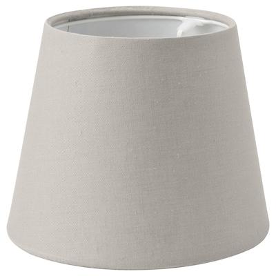 SKOTTORP Abat-jour, gris clair, 19 cm
