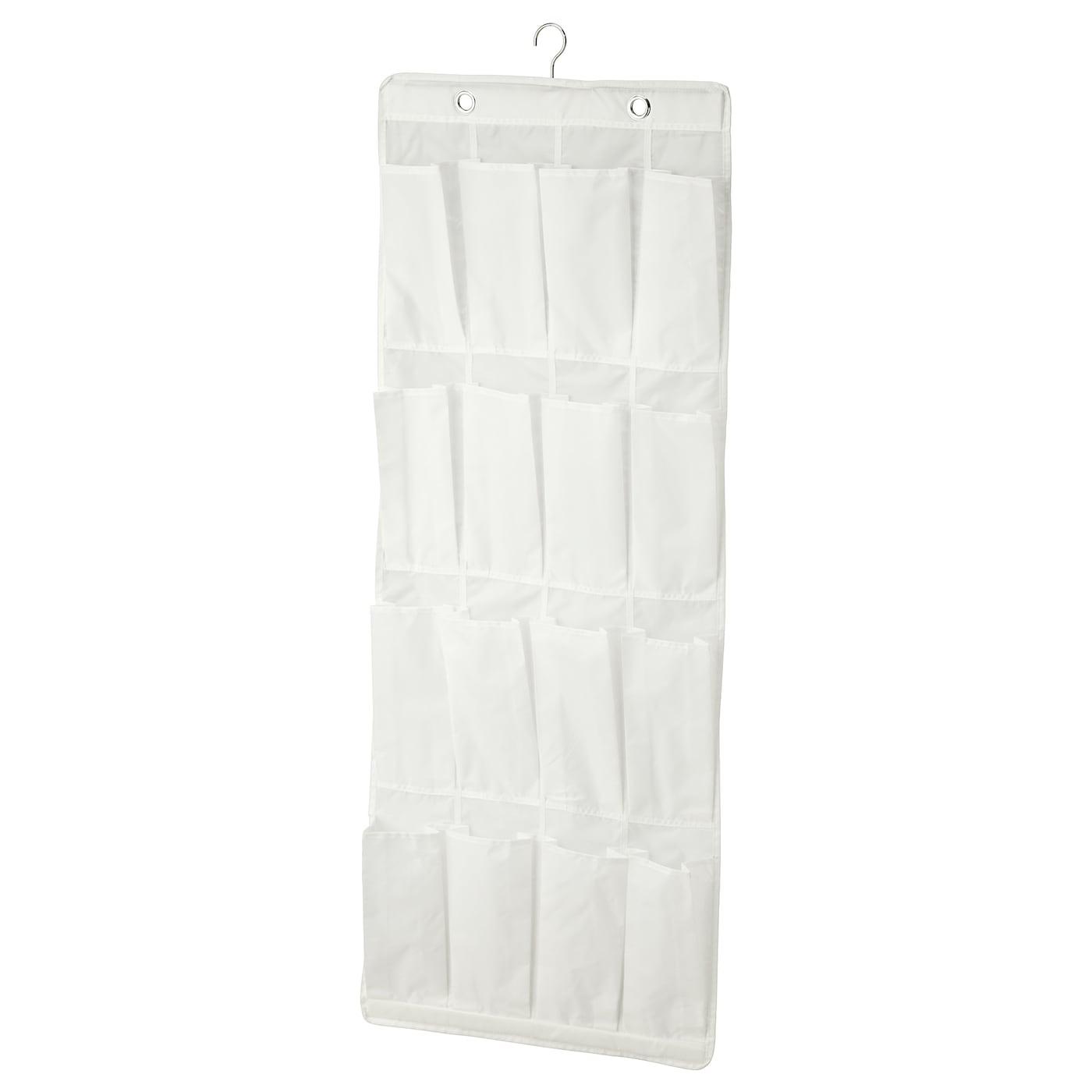 Porte Chaussure Derriere Porte skubb range-chaussures suspendu 16 poches - blanc