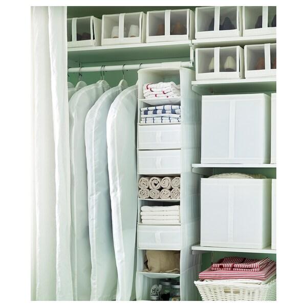SKUBB Housse vêtements lot de 3, blanc