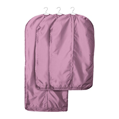 skubb housse v tements lot de 3 rose ikea