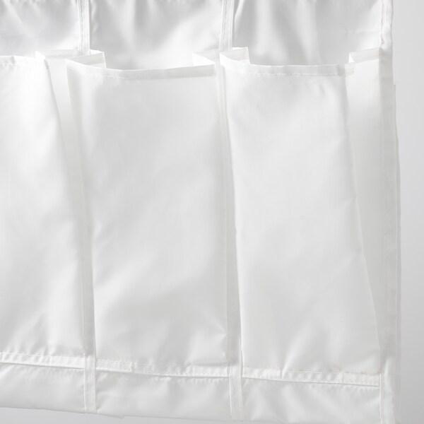 SKUBB Range-chaussures suspendu 16 poches, blanc