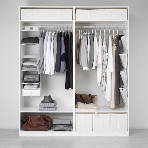 Skubb Rangement A 6 Compartiments Blanc 35x45x125 Cm Ikea