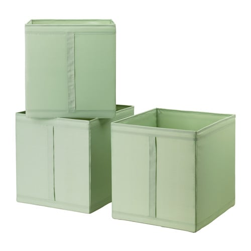 skubb rangement tissu vert clair ikea. Black Bedroom Furniture Sets. Home Design Ideas