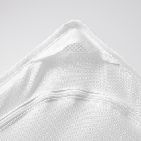 SKUBB Sac de rangement, blanc, 44x55x19 cm