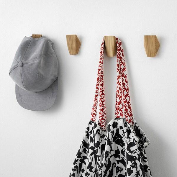 SKUGGIS Crochet, bambou, 5.4x7 cm