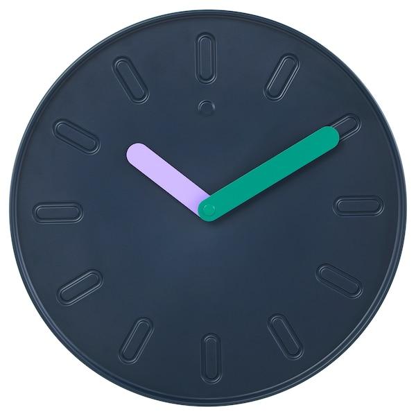 SLIPSTEN horloge murale bleu foncé 2.9 cm 35 cm