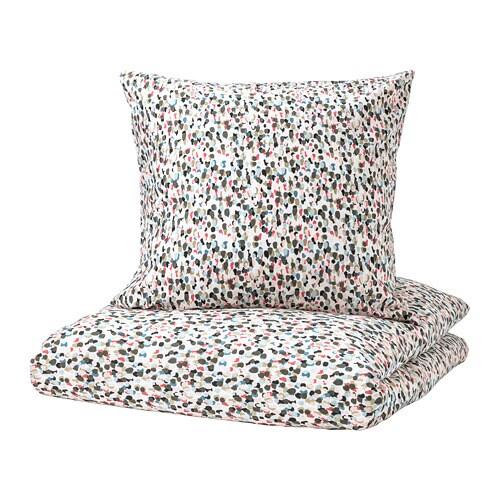 sm starr housse de couette et 2 taies 240x220 65x65 cm ikea. Black Bedroom Furniture Sets. Home Design Ideas