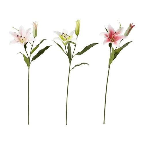 SMYCKA Fleur artificielle , lis coloris assortis Hauteur: 77 cm